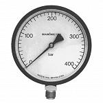 Manômetros de 100mm e 150mm Standard ou com Glicerina