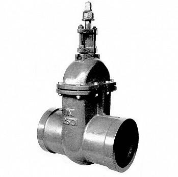 Válvula de Gaveta com Bolsa Tipo PVC