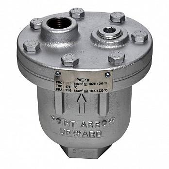 Eliminador de Ar para Líquidos - PAE10